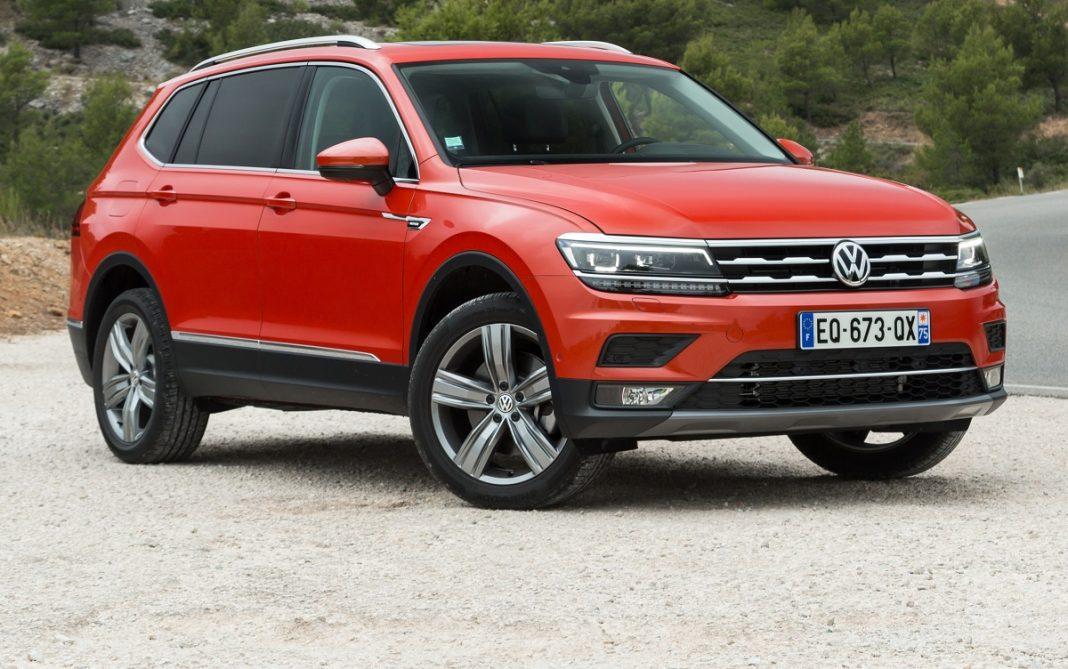 imagen tres cuartos delantero VW Tiguan Allspace