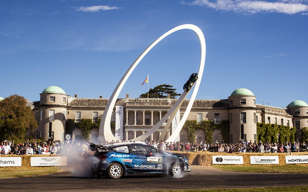 Goodwood Festival of Speed Festival Velocidad Goodwood Ford Fiesta rallyes lateral