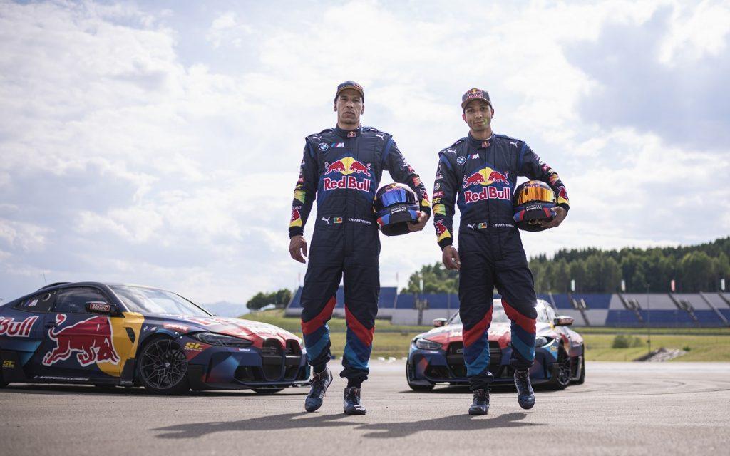 Imagen de los hermanos Houndtondji, pilotos de BMW M4 Drifting