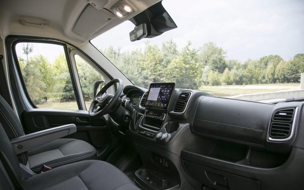 Interior del Fiat Ducato