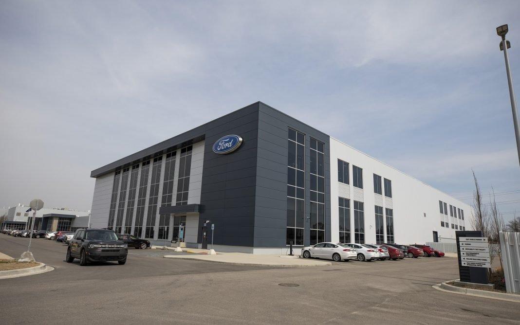 Exterior del Ford Ion Park