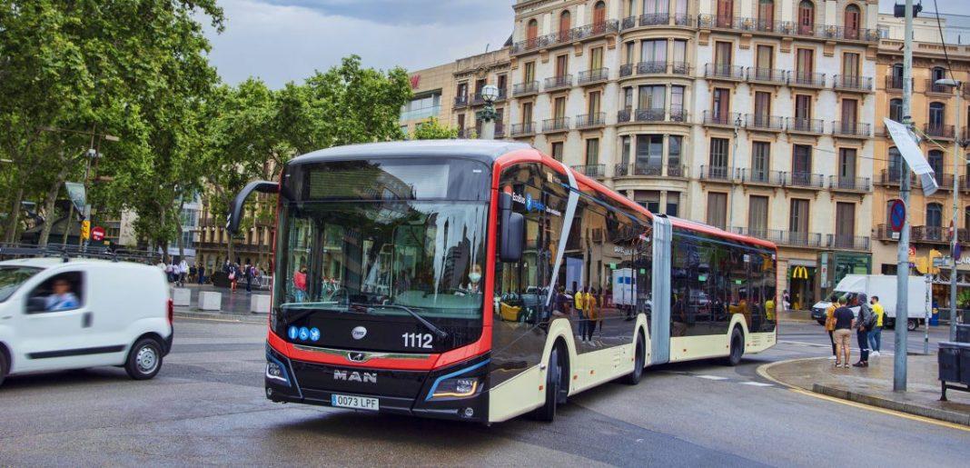 Imagen del autobús urbano MAN Lion´s City 18E