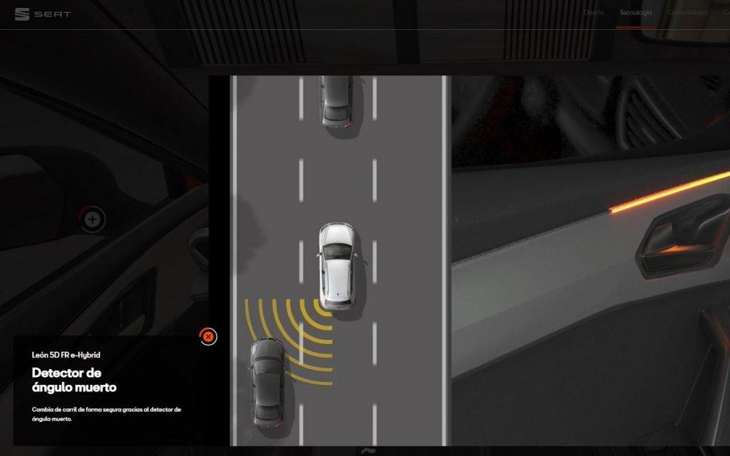 Explicaciones ADAS en la Seat Virtual Experience