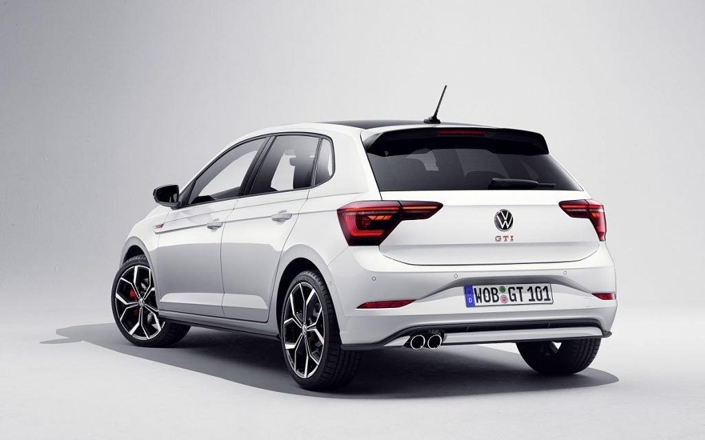 Imagen posterior del VW Polo GTI