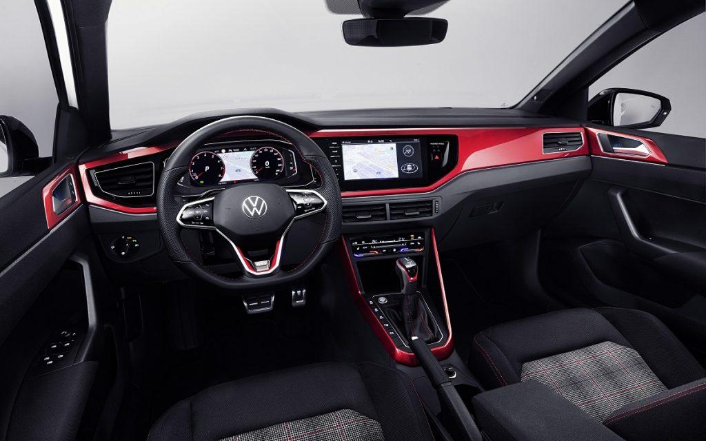 Interior del VW Polo GTI