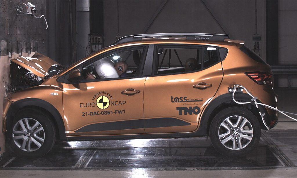 crash test de un Dacia Sandero