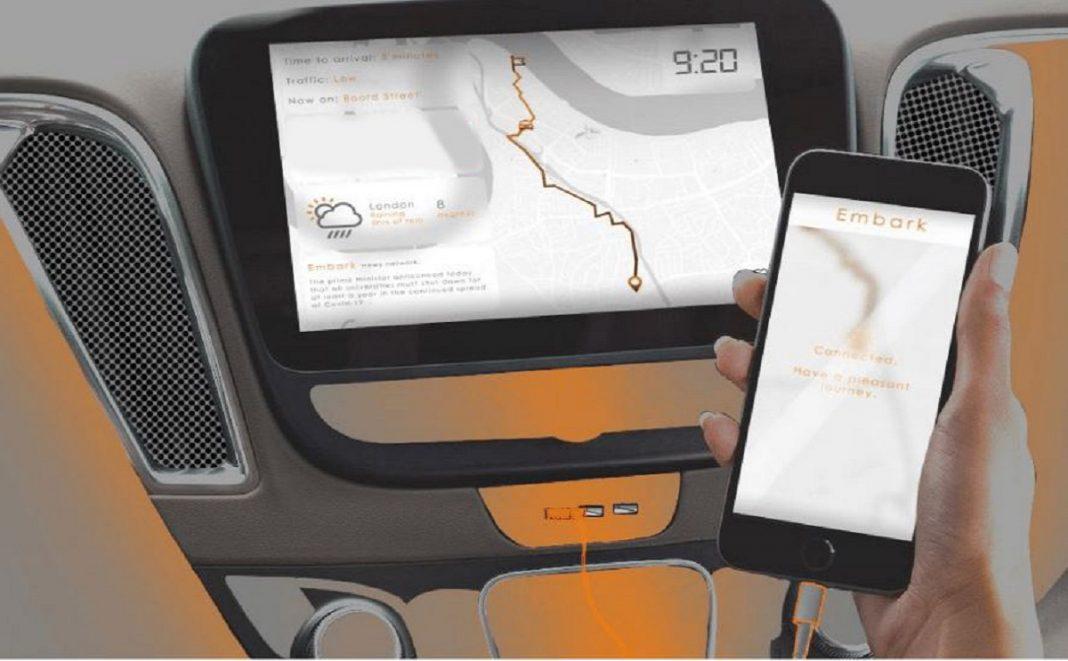Imagen taxi autonomo de Ford