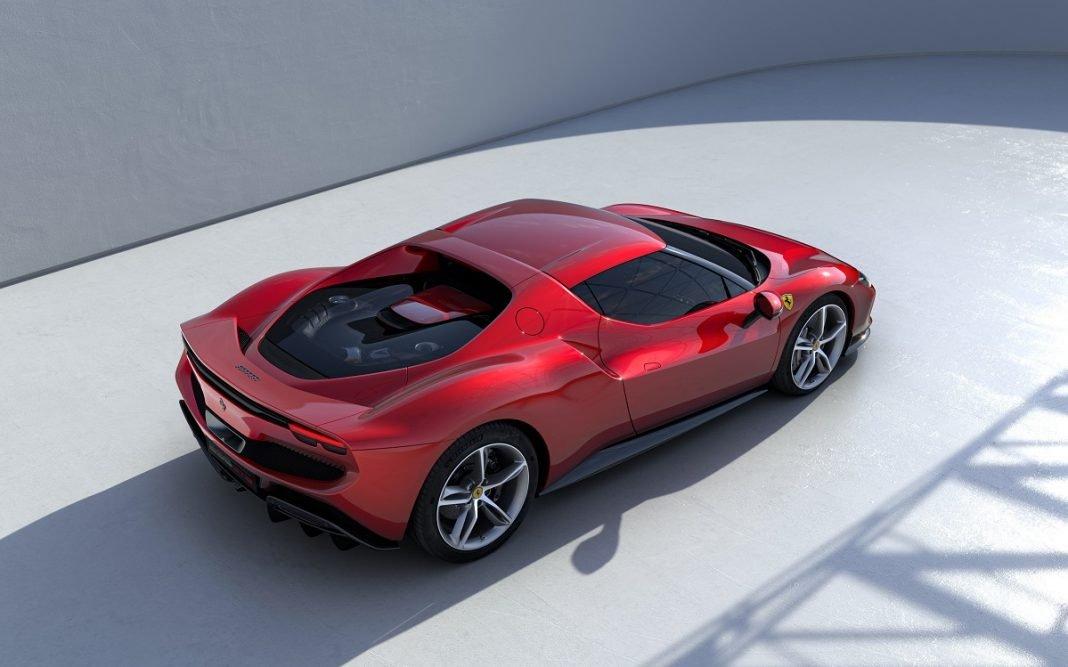 imagen del Ferrari 296