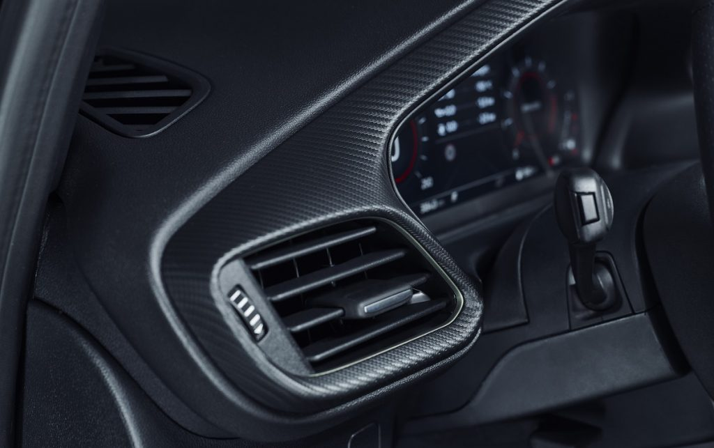 Imagen detalle interior Ford Puma ST
