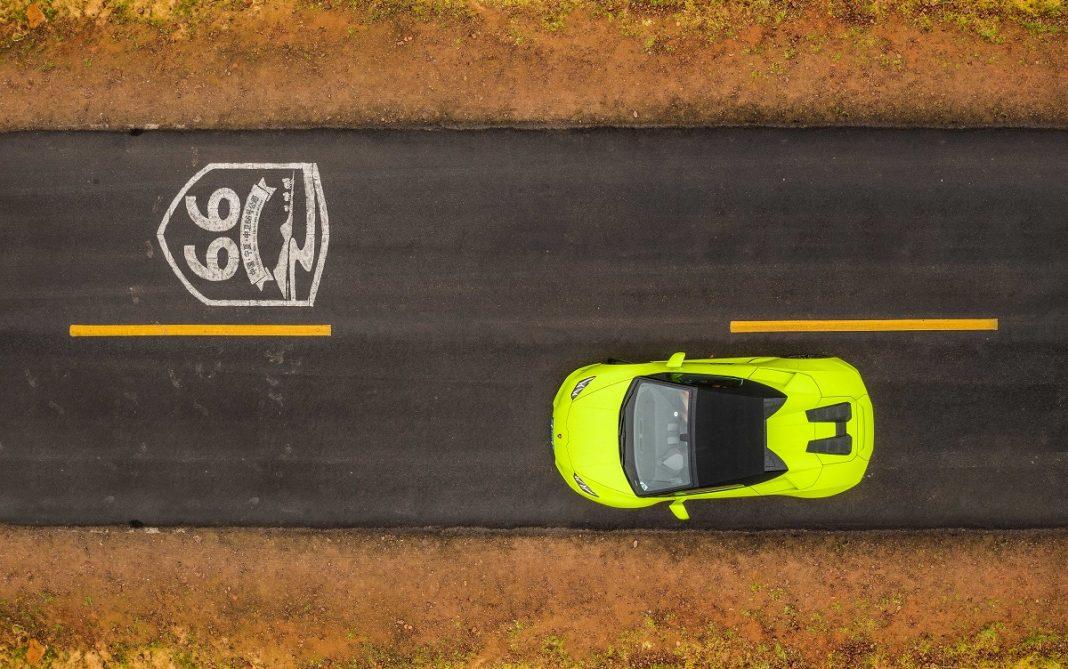Imagen travesía Lamborghini China