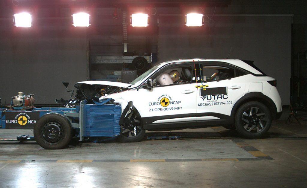 Crash test de un Opel Mokka