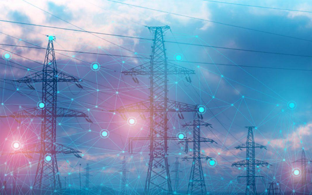 Postes infraestructura red eléctrica
