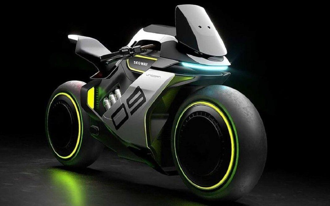 Imagen tres cuartos delantero Moto de hidrógeno