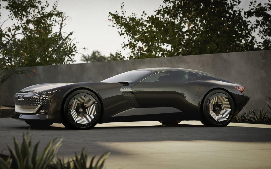 Audi Spysphere tres cuartos frontal