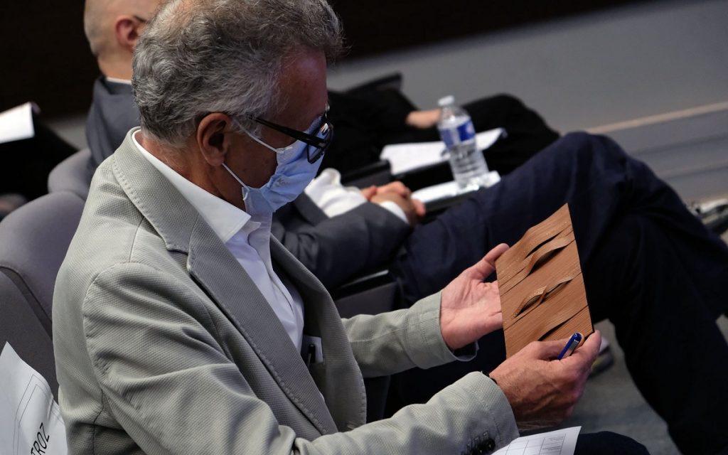 Imagen de un participante del concurso DS x Métiers D' Art