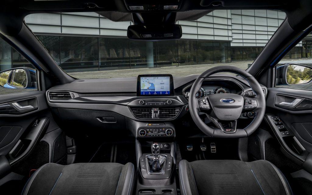 Interior del Ford Focus ST Edition