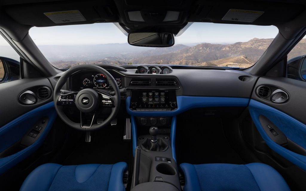 Interior del Nissan Z