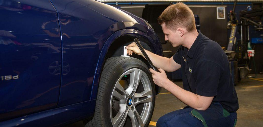 Imagen de una Revisión de Neumáticos