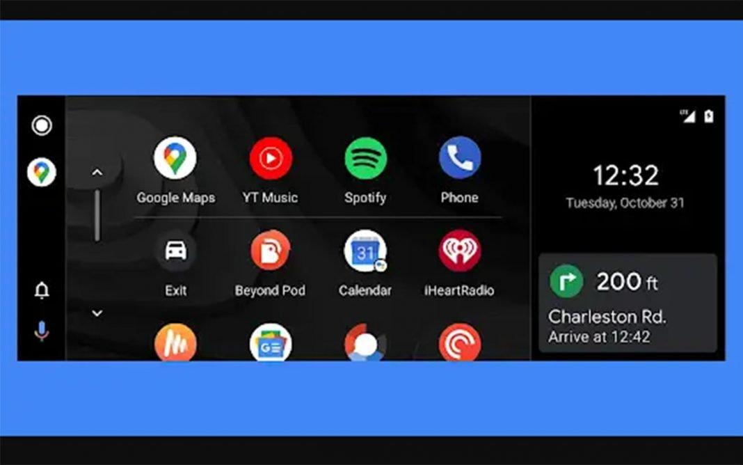 Android Auto pantalla
