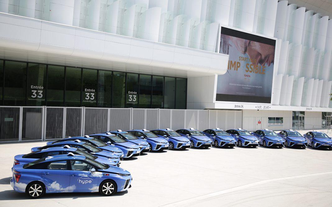 Toyota Mirai flota panorámica