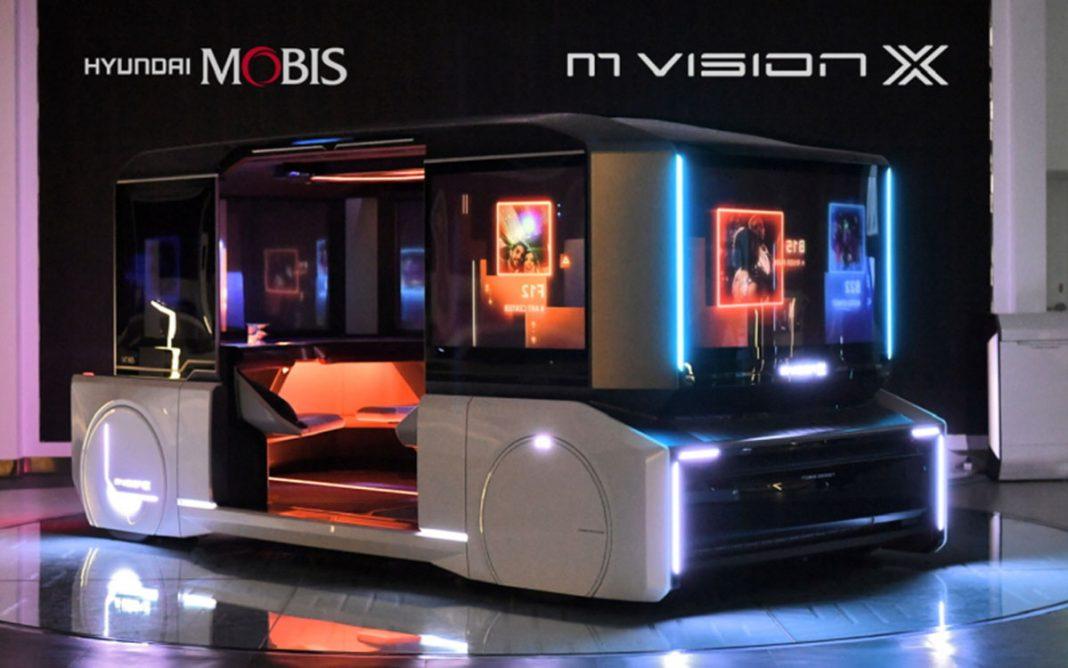 Hyundai Mobis M.Vision X tres cuartos frontal