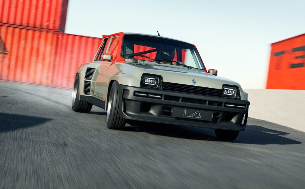 imagen tres cuartos delantero del Renault 5 Turbo 3