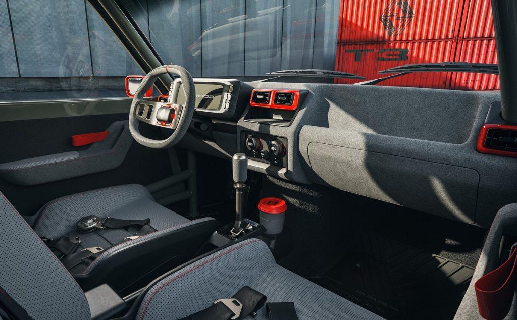 imagen interior del Renault 5 Turbo 3