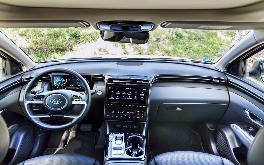Interior del Hyundai Tucson