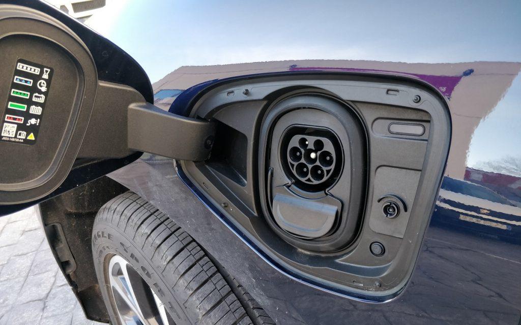 Toma de carga del Jaguar I-Pace