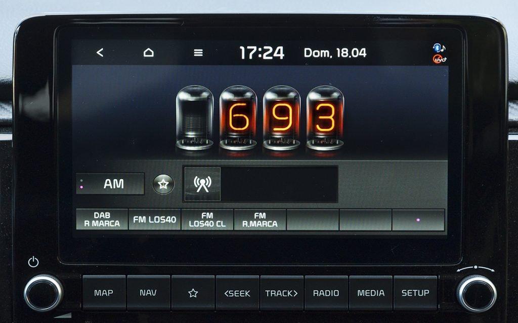 Sintonización de radio en el Kia Rio GT Line