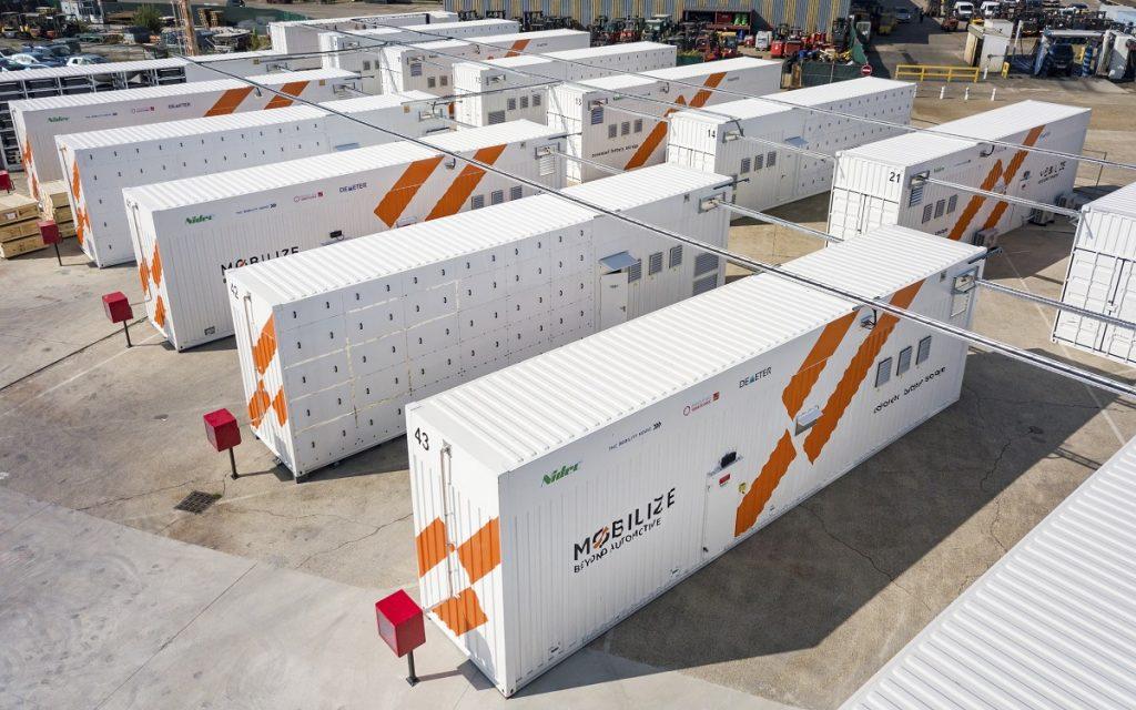 Imagen del Mobilize Advanced Battery Storage en Flins