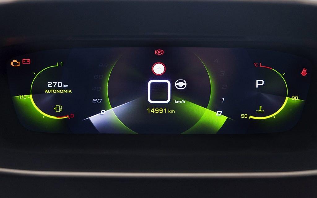 Digital Cockpit del Peugeot 2008 GT