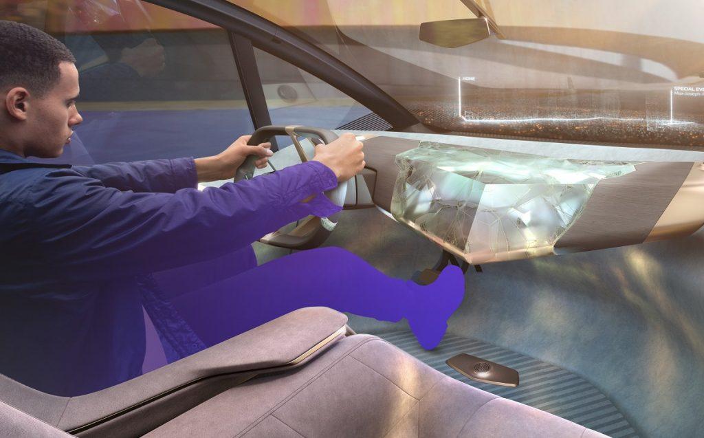 Imagen interior del BMW iVision Circular