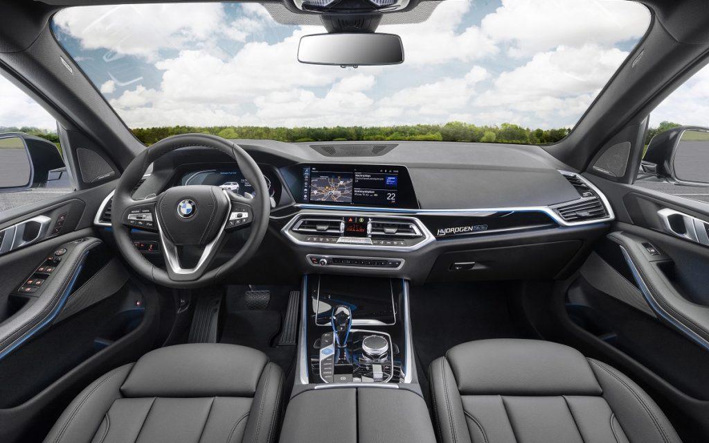 Imagen BMW X5 hidrógeno por dentro