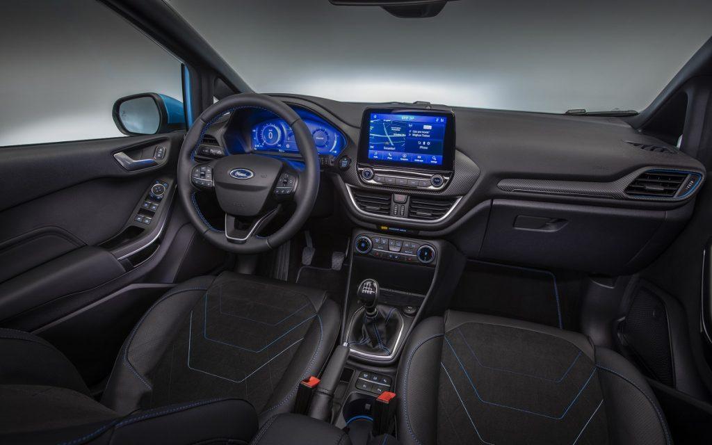 Imagen interior Ford Fiesta 2022
