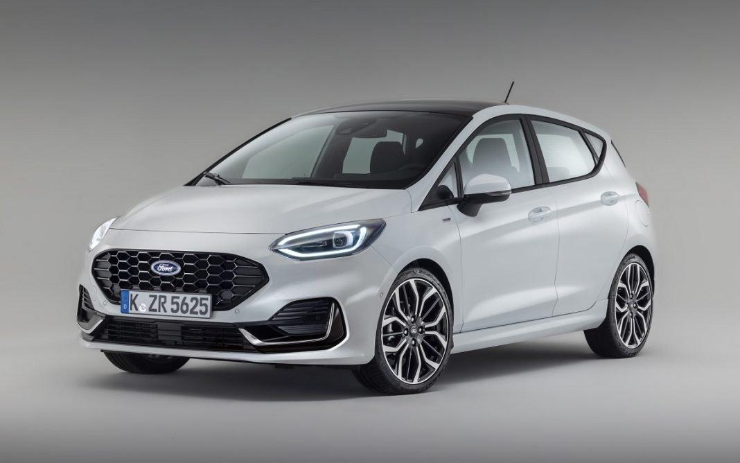 Imagen tres cuartos delantero Ford Fiesta 2022