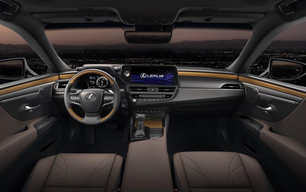 Imagen Lexus ES por dentro