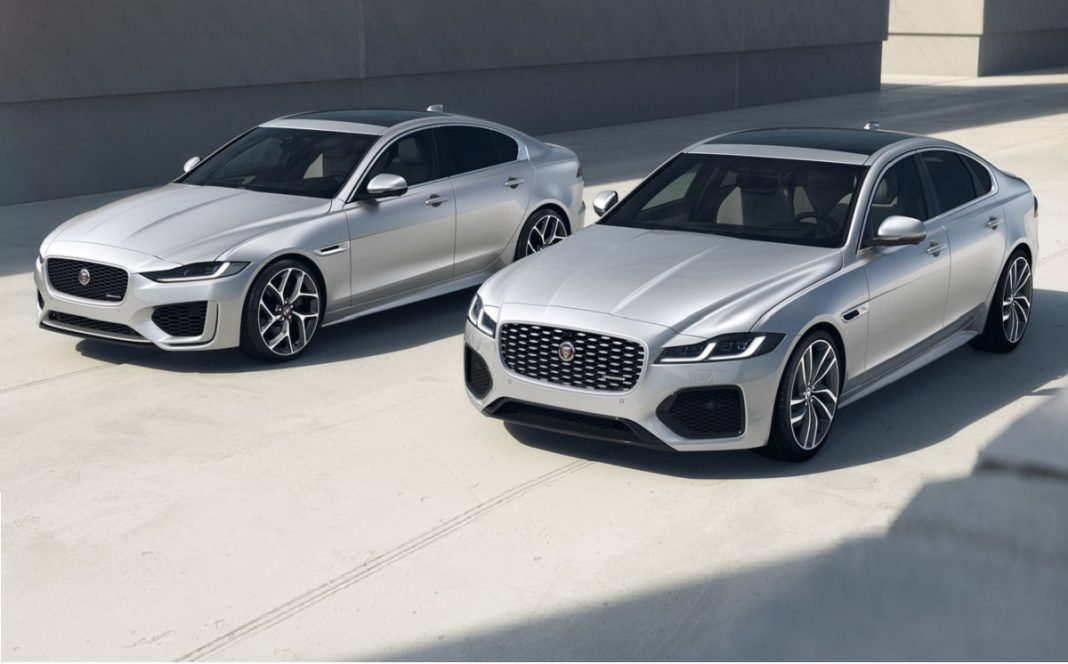 Imagen de los Jaguar XE y XF