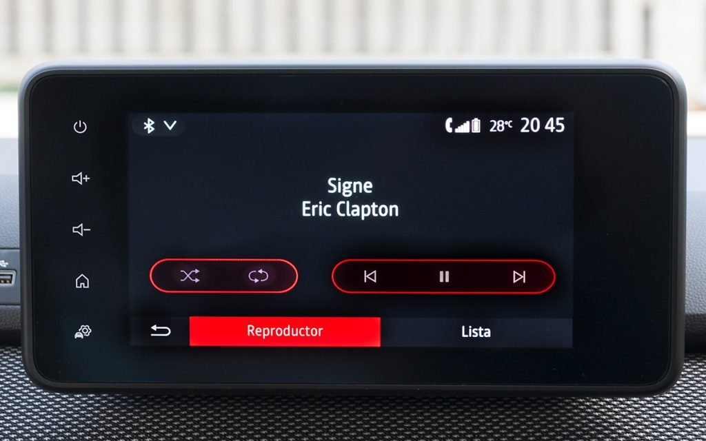 Reproducción de audio en el Dacia Sandero Stepway
