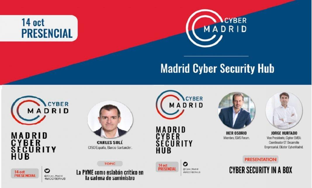 Cartel evento Cyber-Madrid