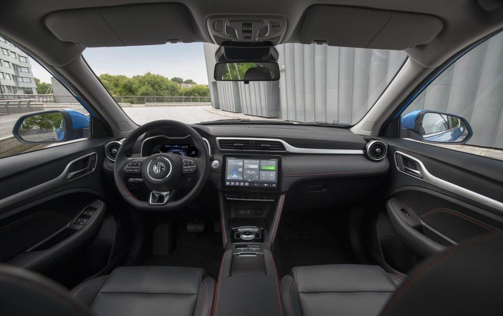 Imagen del nuevo MG-ZS-EV interior