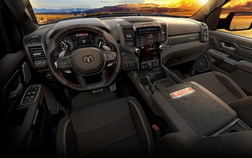 Imagen exterior Dodge RAM 1500 TRX interior