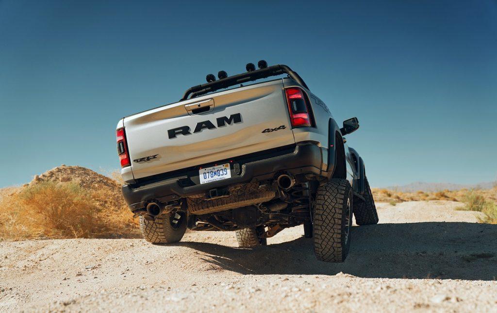 Imagen exterior Dodge RAM 1500 TRX tres cuartos trasero