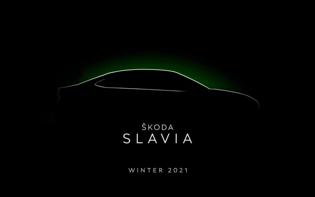 Teaser del Skoda Slavia