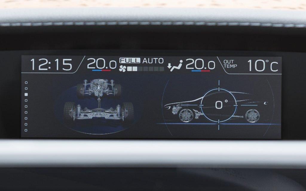 Esquema motriz del Subaru Impreza Hybrid