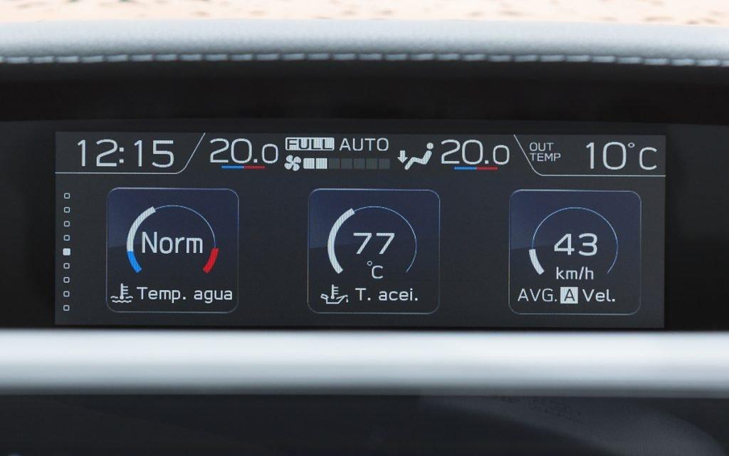 Datos motor del Subaru Impreza Hybrid